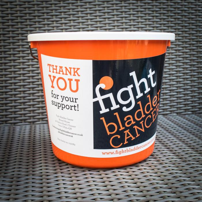 Fight Bladder Cancer Collection Bucket